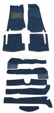 Fiat 124 Spider 2000 Complete Dark Blue Carpet Set 1966-82 New