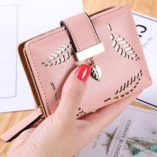 Women Girl Mini Wallet Leather Card Holder Small Purse Clutch Bag Ladies Handbag