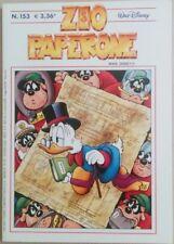 ZIO PAPERONE N. 153 - GIUGNO 2002 - WALT DISNEY COMPANY ITALIA - PERFETTO