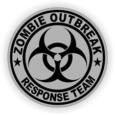 Zombie Outbreak Response Team Hard Hat Decal / Sticker / TWD Helmet Label ZORT