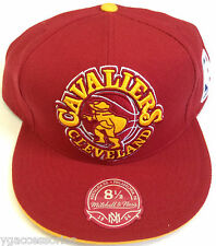 NBA Cleveland Cavaliers Mitchell and Ness XL Logo Structured Fit Cap Hat M&N NEW