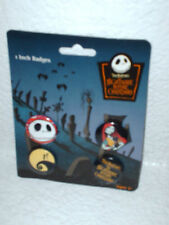 New Disney Nightmare before Christmas pins badges 4 pc.
