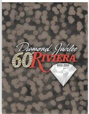 Riviera Las Vegas Hotel Casino Club card Folded presentation folio Diamond 60th