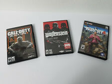 CALL CALL OF DUTY BLACK OPS 3 -- FAR CRY 4 -- WOLFENSTEIN NEW ORDER - CD GAMES