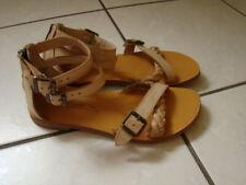 Pom d'api LEDER Plagette Strap Sandale 35 Mädchen Schuhe Sommer NP119€ 1xgetrag
