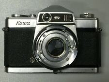 Kowa SER 35mm camera w/ 50mm F2 Lens & Case - Parts or Repair