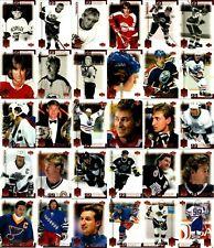 1999-00 UD WAYNE GRETZKY LIVING LEGEND 99 THE GREAT ONE COMPLETE 99 Card Set Lot