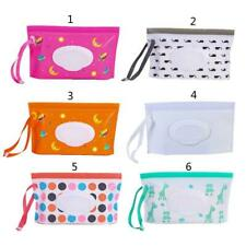 Baby Portable Wet Wipes Box Wipes Container Easy-carry Clamshell Wipes Case
