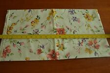 """By-the-Half-Yard, 44"""", Floral on Lt-Mint Quality-Cotton, Alexander Henry M4466"""