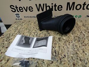 Challenger Hellcat Headlamp Inlet Mopar Cold Air Intake Duct Tube Functional OEM