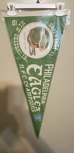 PHILADELPHIA EAGLES SUPER BOWL15 RETRO NFL VINTAGE PENNANT / HOLDER 5/15/21