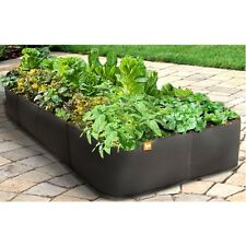 3 Foot by 6 Foot Raised Garden Bed Planter in Uv Resistant Non Woven Air Flow Pl