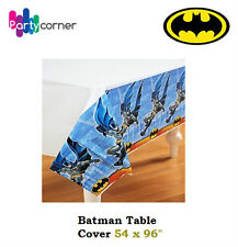 BATMAN PARTY SUPPLIES TABLE COVER  TABLE CLOTH 54 X 96 INCH