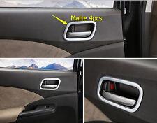 2012-2015 for Honda CRV CR-V Door Interior Handle Bowls Frame Covers Matte ABS