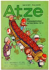 DDR ATZE Heft 3/1977 FDJ Verlag Junge Welt Fix und Fax *AZ60