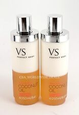 New Victoria's Secret Lot of 2 Coconut Oil Silkening Body Wash  - 8.4 oz 250 ml
