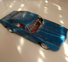 Vintage Collectible Tin Friction Bandai Firebird Car Japan Toys Hobbies Used