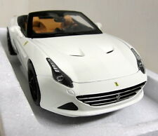 Burago 1/18 Scale 18-16904 Ferrari California T Open white Diecast model car