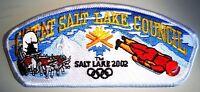 OA GREAT SALT LAKE COUNCIL OA 520 EL-KU-TA UT PATCH FLAP SLC 2002 OLYMPICS CSP