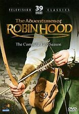 The Adventures of Robin Hood - The Complete First Season (DVD, 2008, 4-Disc Set)