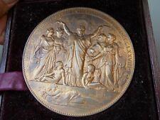 Médaille Exposition Universelle  Internationale 1878 Oudiné , Anthropologiques
