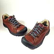 Keen Women's 6 EU 36 Brown Soft Leather Oxford Walking/Hiking Lace-Up Shoes 0705