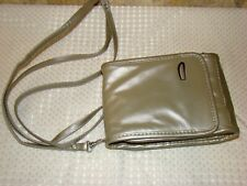 Small Travelon Crossbody Mini Bag Leather Travel Purse Organizer Wallet