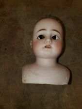 Free Ship ANTIQUE DEP ERNST HEUBACH BISQUE HEAD DOLL JOINTED Head Only