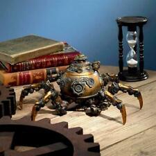 Futuristic Octopus Deep Sea Industrial Steampunk Machinery Statue New