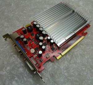 256MB Gainward 7300GT PCI-e DVI VGA TV/Out Graphics Card XNE+7300T-TD21-PM8773
