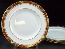 Royal Crown Derby CLOISONNE 4 Salad Plates Bone China A1317 GREAT VALUE