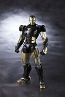 S.h.figuarts Iron Man Mark 6 Black Ver SH Marvel Action Figure w/Tracking# F/S