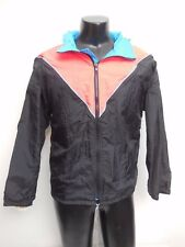 Women's Vintage Bill Rogers Multi Color Running Workout Jacket Size Large 80's