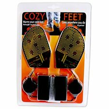 Battery Powered Boot Inserts Reusable Electric FOOT Heater Shoe Warmer COZY FEET