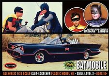 Polar Lights [PLL] 1:25 1966 Batmobile w/Figures Plastic Model Kit PLL920 POL920