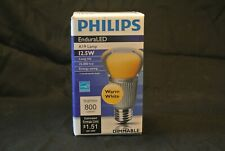 Philips EnduraLED A19 12.5W, Dimmable 800 Lumens, 2700K (Warm) Light Bulb