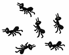 #4055R Lot 6 Pcs Ant Embroidery Iron On Appliqué Patch---Right