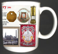 ROSSINGTON MAIN COLLIERY COAL MINE MUG LIMITED EDITION GIFT MINERS YORKSHIRE PIT