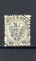 Austria 1883 20k perf 10 1/2 (line) FU CDS