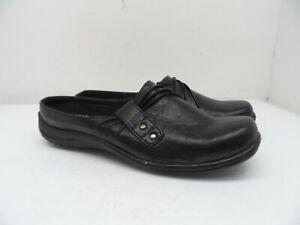Easy Street Women's Loafer Flat Casual Dress Shoe Black Size 8M