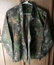 Realtree Hardwood Long Sleeve Camo Button-Front Shirt - Men's Medium
