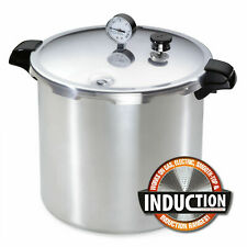 Presto 23-Qt Induction Pressure Canner with Stainless Steel-Clad Base 01784