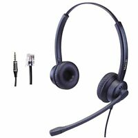 MAIRDI Cisco Headset with Noise Cancelling Mic for Call Centers Offices Home