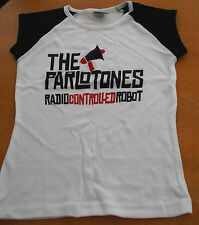 THE PARLOTONES RADIO CONTROLLED ROBOT - RARE PROMO T SHIRT [SMALL]