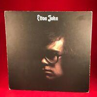 ELTON JOHN Elton John 1970 UK vinyl LP EXCELLENT CONDIT Self titled s/t same A