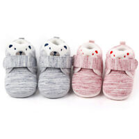 Baby Boots Newborn Toddler Girls Boys Cartoon Warm First Walkers Shoes Booties