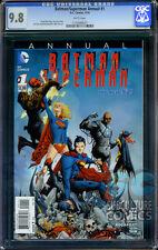 BATMAN SUPERMAN ANNUAL #1 - CGC 9.8 - FIRST ANNUAL - SOLD OUT - FIRST PRINT