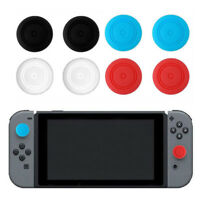 2X Silicone Thumbstick Thumb Stick Grip Caps Cover For NS NX Switch joy con BDA