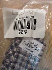 Longaberger Collector Club Miniature Berry Basket Liner