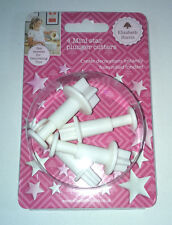 4 MINI 5-Point Star tuffo Cutter Decorazione Torte Glassa Pasticceria Elizabeth Harris